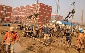 湖北打井钻井施工案例